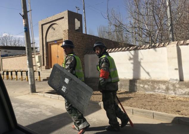 China's western Xinjiang region