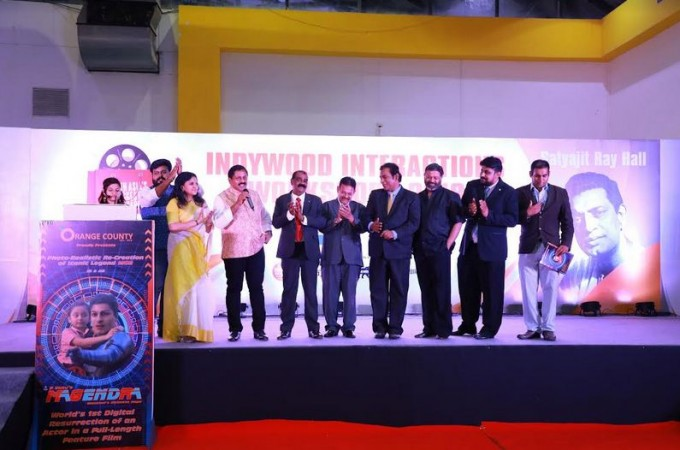 MGR's animation movie Magendra launch