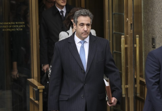 Former Trump Lawyer Michael Cohen Attends His Sentencing Hearing