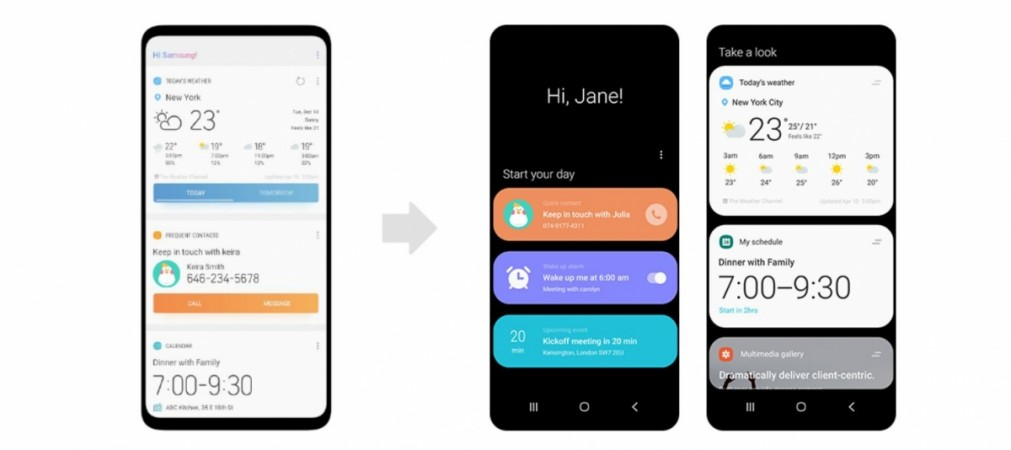 Samsung, One UI, Android Pie, Galaxy S10