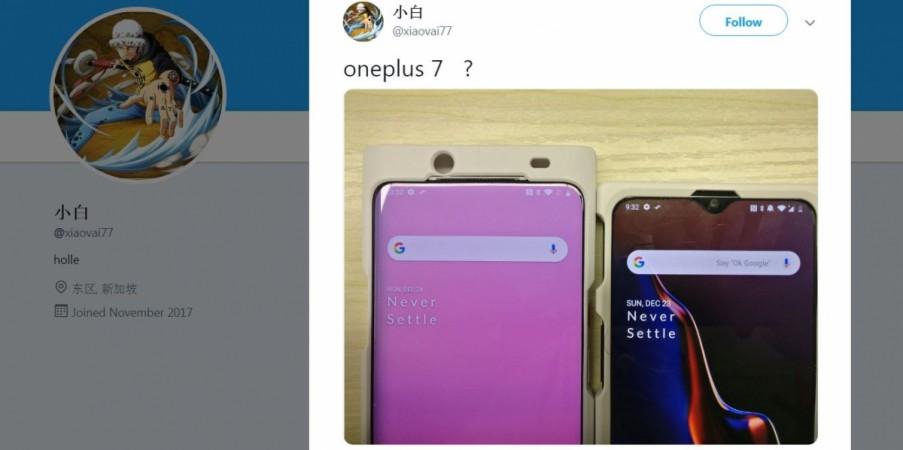 OnePlus 7, notch-free, OxygenOS