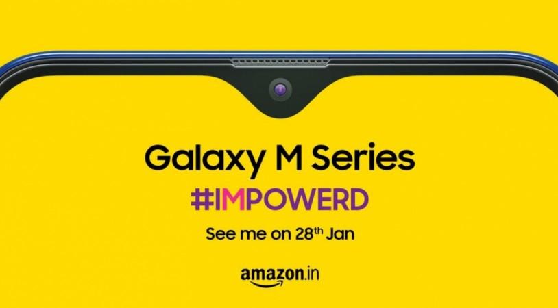 Samsung, Galaxy M, India, launch, Amazon