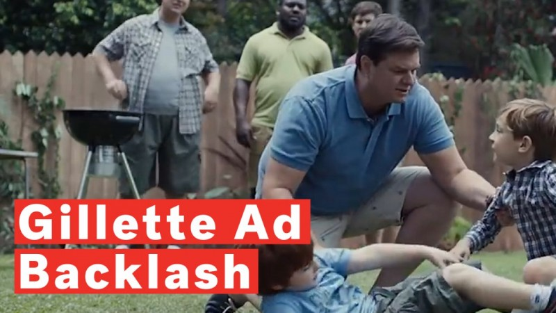 Gillette supports their ad that has received a lot of flak