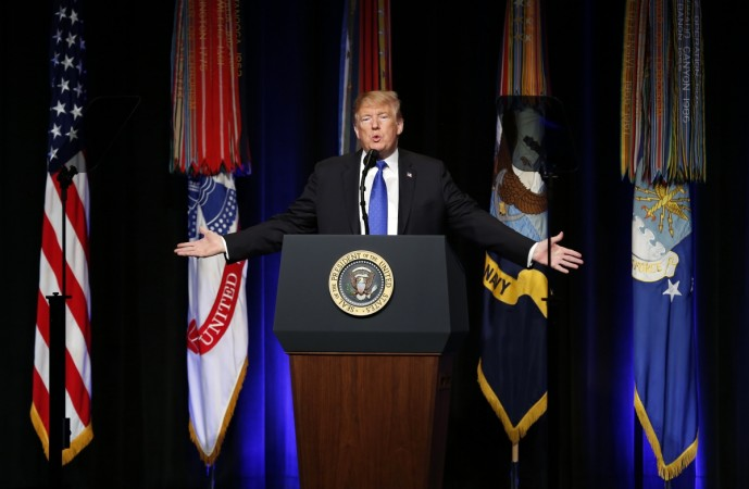 President Trump Speaks About Missle Defense Doctrine At The Pentagon