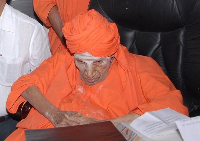Siddaganga Mutt chief pontiff Sri Shivakumara Swamiji
