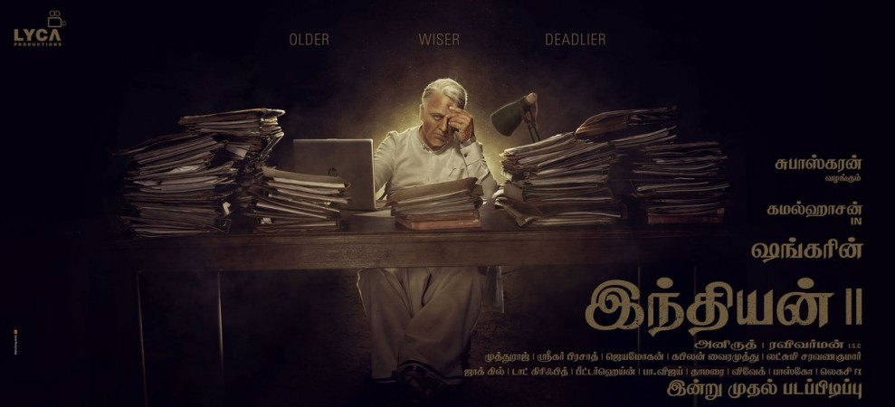 Kamal Haasan's first look in Indian 2