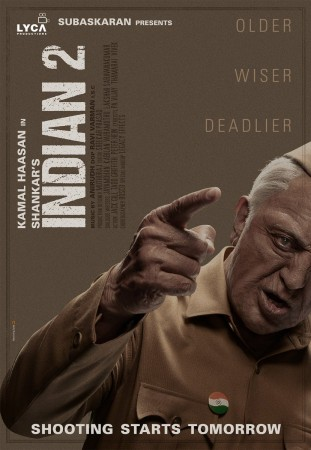 Indian 2 First Look