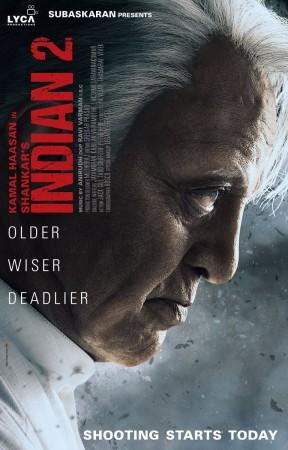 Kamal Haasan's Indian 2 first look poster