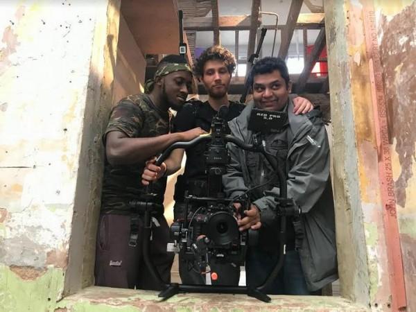 Jome Joseph with Moksha team