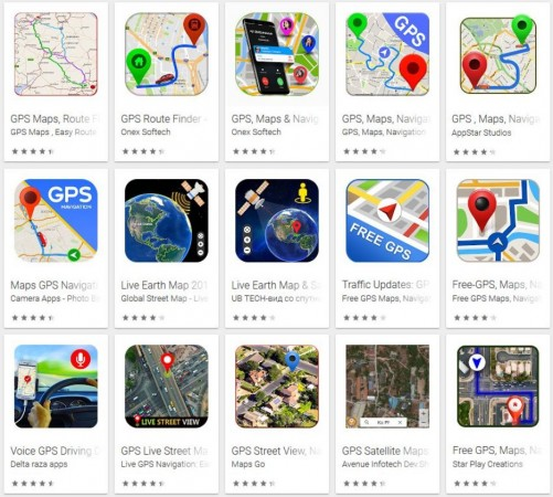 fake, Google, GPS, navigation, apps, Play store