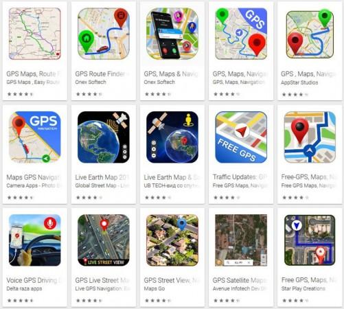 fake, Google, GPS, navigation, apps, Play store