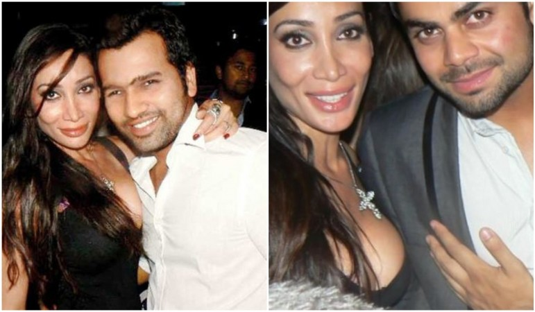 Sofia Hayat's scandalous old tweets on Rohit Sharma, Virat Kohli resurface