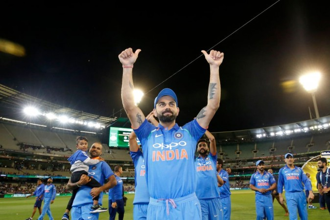 Virat Kohli Indian cricket team