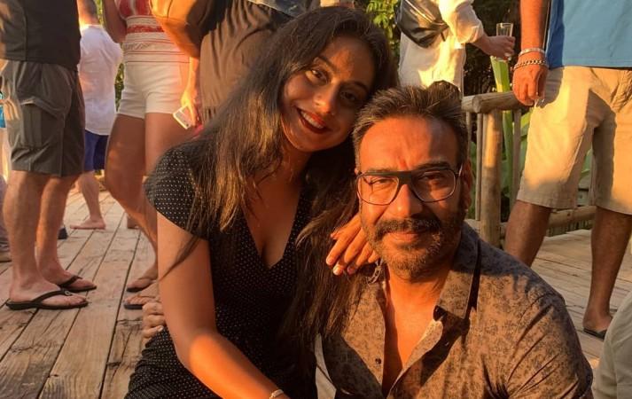 Nysa Devgn, Ajay Devgn