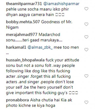 Sonu Nigam gets trolled by Instagram users for twisting man's arm who was trying to click a selfie