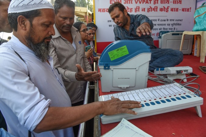 Electronic Voting Machine