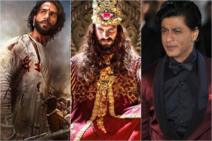 Shahid Kapoor, Ranveer Singh, Shah Rukh Khan
