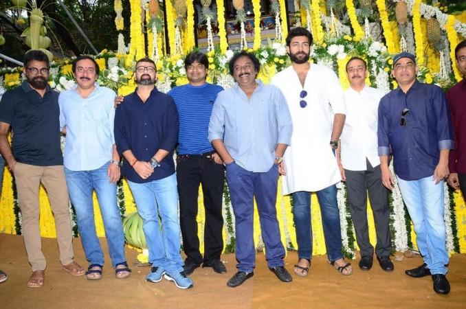 Valmiki 2019 Telugu movie launch photo