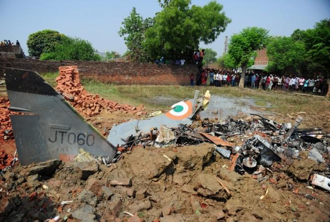 INDIA-AVIATION-CRASH