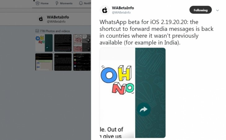 WhatsApp, forward, limit, global regions.