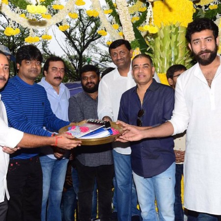 Image result for varun tej harish shankar movie launch