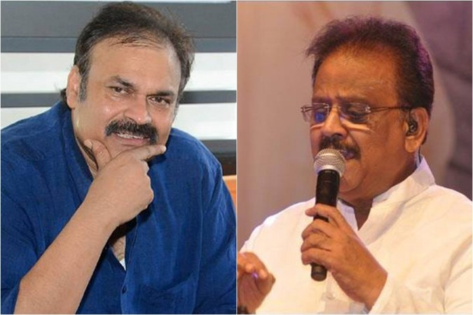 Actor Nagababu and singer SP Balasubrahmanyam