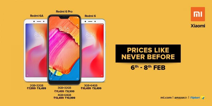 Redmi phones get discounts in India