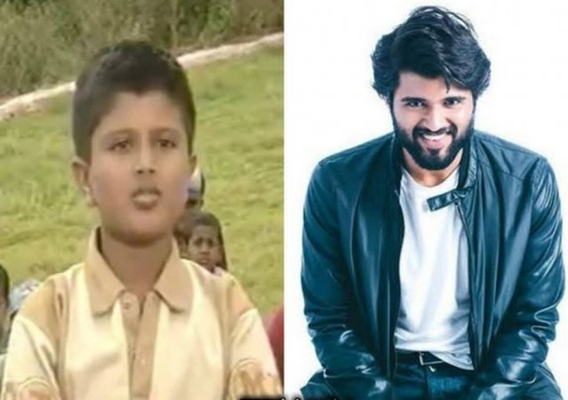 Vijay Devarakonda's childhood and latest photos
