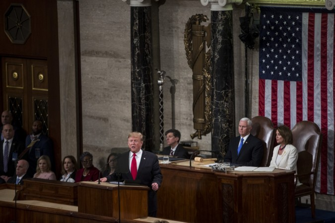 Donald trump state of the union address