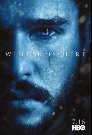 Jon Snow and Night King