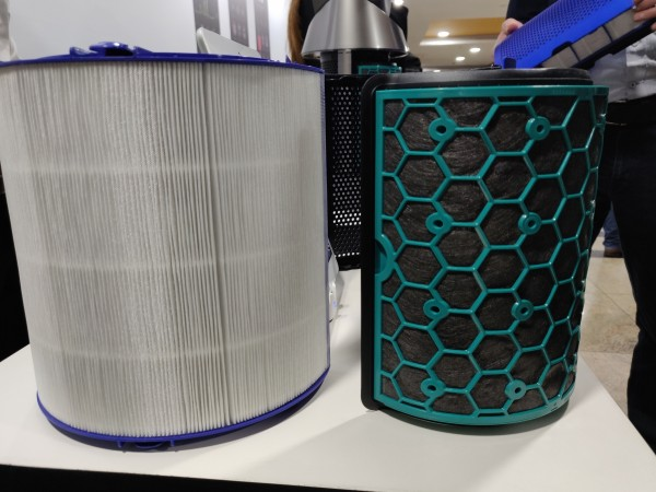 Dyson Hot Cool air purifier come with HEPA and activated carbon filters