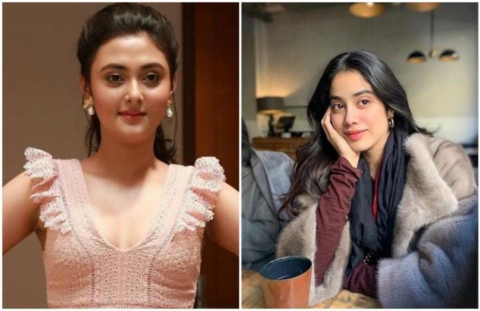 Megha Chowdhury and Jhanvi Kapoor