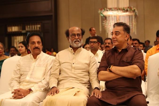 Kamal Haasan at Soundarya Rajinikanth's Wedding with Vishagan