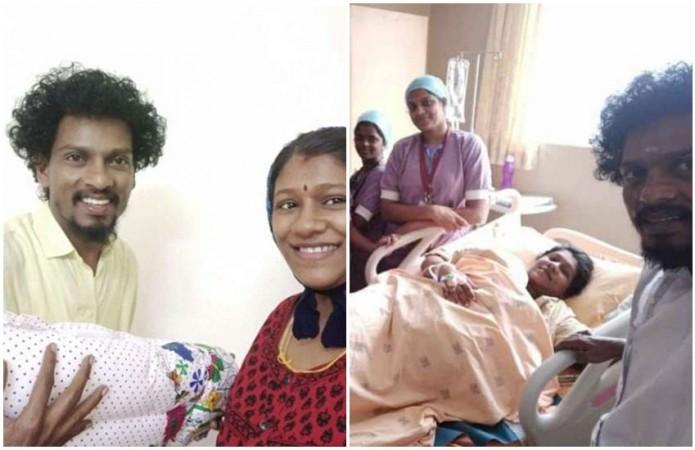 Sendrayan Welcomes Baby Boy