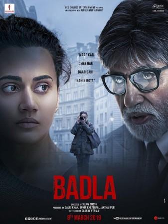 Badla trailer out