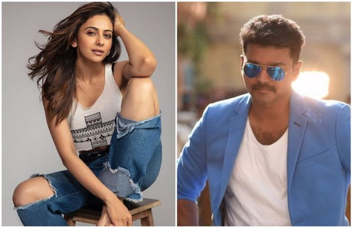 Rakul Preet wants to work with Vijay