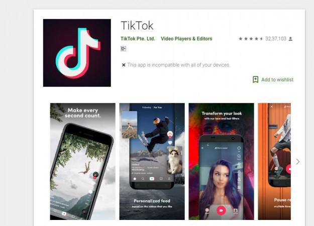 Tik Tok, ban, PUBG Mobile ban