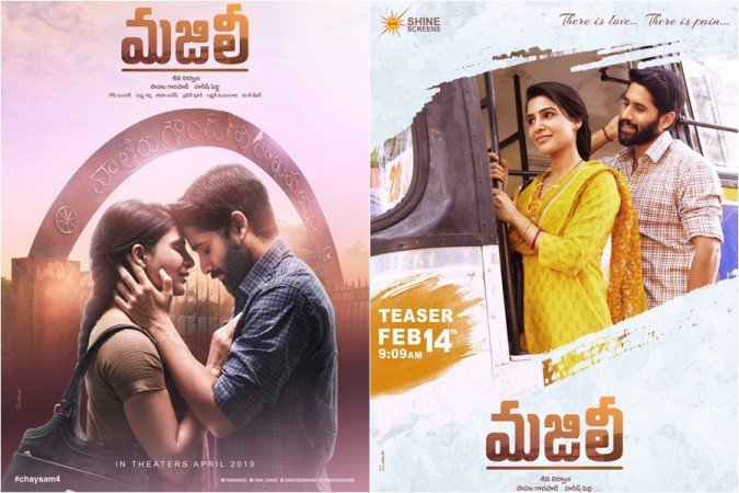 Samantha Akkineni and Naga Chaitanya in Majili