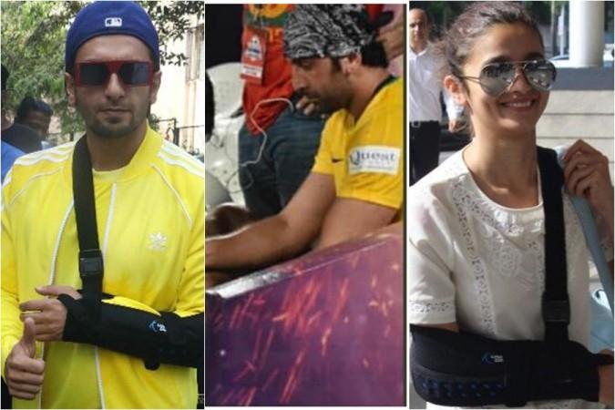 Ranveer Singh, Ranbir Kapoor, Alia Bhatt