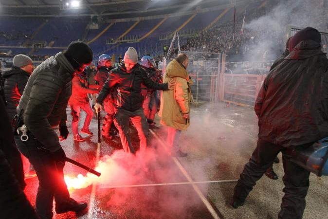Lazio Police Fight