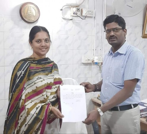 No caste certificate