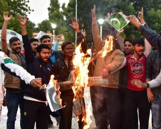pulwama CRPF attack protests