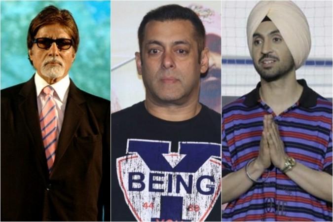 Amitabh Bachchan, Salman Khan, Diljit Dosanjh
