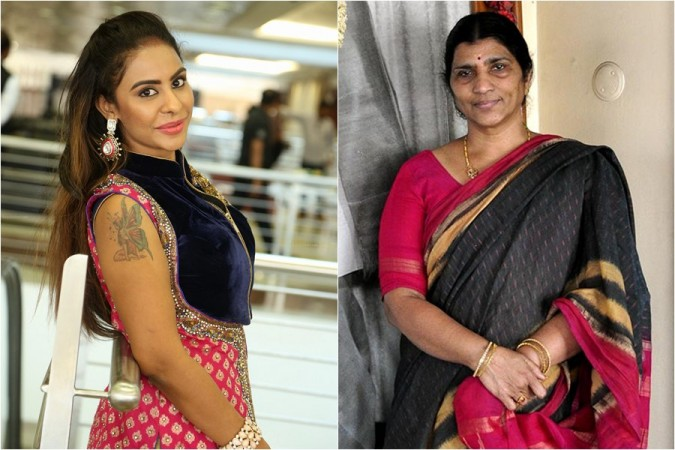 Sri Reddy and Lakshmi Parvathi