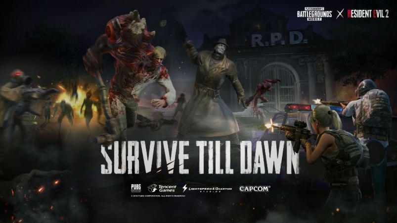 PUBG Mobile,0.11.0, update, Resident Evil 2, Zombie mode