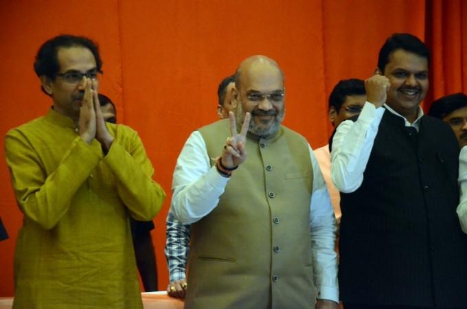 BJP shiv Sena alliance