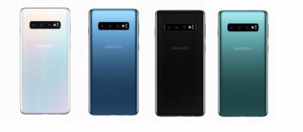 Samsung, Galaxy S10, colours