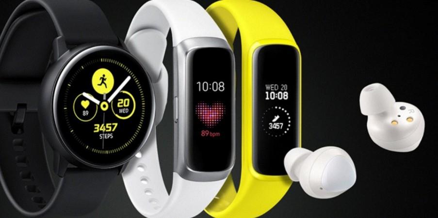 Samsung, Galaxy Watch Active, Galaxy Fit, Galaxy Fit e, Galaxy Buds, Galaxy Unpacked 2019
