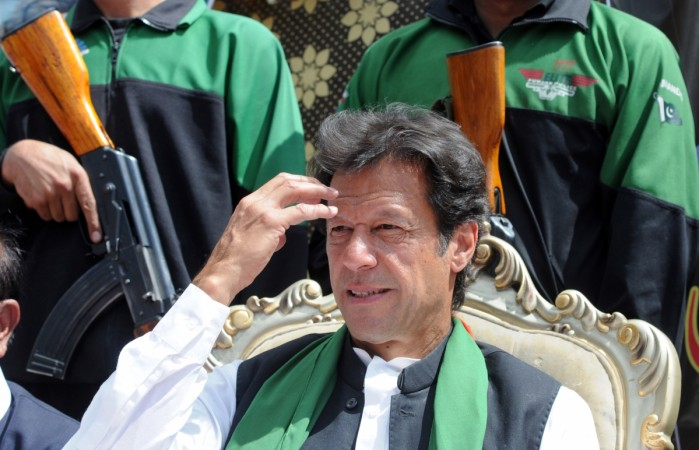 Chairman of Pakistan Tehreek-e-Insaaf (PTI) or Movement for Justice party, Imran Khan