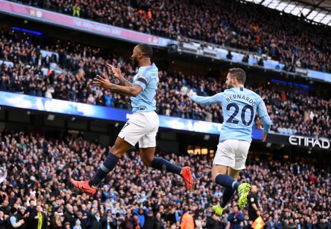 Raheem Sterling Bernardo Silva Manchester City